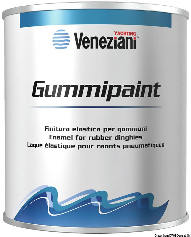 Antivegetativa Gummipaint bianca 0,5 l